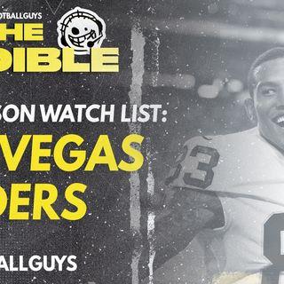 2021 Fantasy Football - Las Vegas Raiders Preseason Watch List