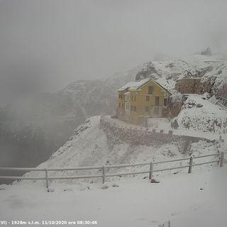 Dal Pasubio all'Altopiano, neve sulla montagna vicentina