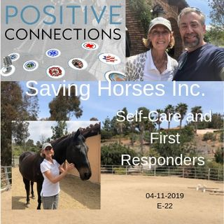 Saving Horses Inc: Self-Care and First Responders: Audrey Reynolds