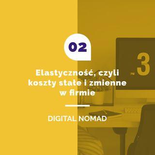02.Elastyczność czyli koszty stałe i zmienne w firmie.