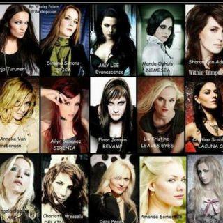 Voces femeninas en el Metal