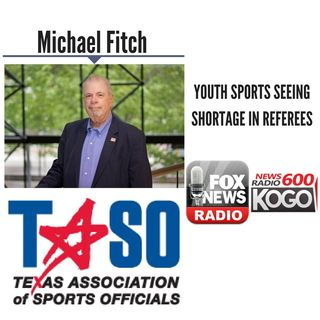 Youth Sports Seeing Shortage in Referees || Michael Fitch Discusses LIVE (6/22/18)