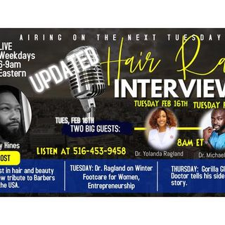 The Hair Radio Morning Show LIVE #531  Tuesday, February 16th, 2021