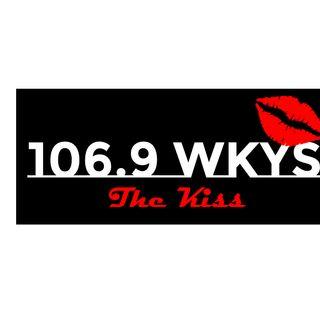 "106.9 WKYS ""THE KISS"" 5 O'CLOCK WHISTLE"