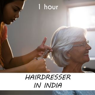 Hairdresser in India | 1 hour HAIRDRESSER Sound Podcast | White Noise | ASMR sounds for deep Sleep | Relax | Meditation | Colicky