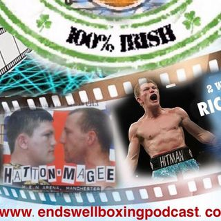 """Enswell Boxing Podcast: """"I should really be called Ricky O'Hatton"""" - The One and Only Hitman Ricky Hatton"""