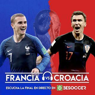 Revive el partido: Francia-Croacia