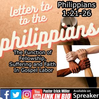 Ep 208 How The Christians Take Care Of each Other Philippians 1-21
