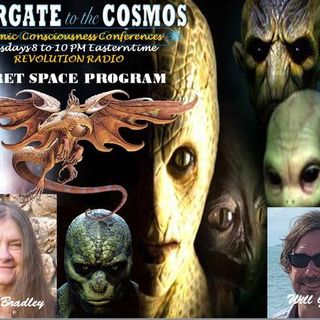 Will Glover & Penny Bradley~Secret Space Program~12/09/18~Hosts Janet & Sasha