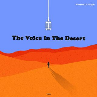 11- The Voice In The Desert