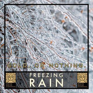 Freezing Rain | White Noise | ASMR & Relaxation
