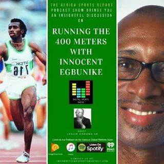 Running The 400 Meters With Innocent Egbunike
