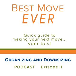 Ep 2 Organizing and Downsizing