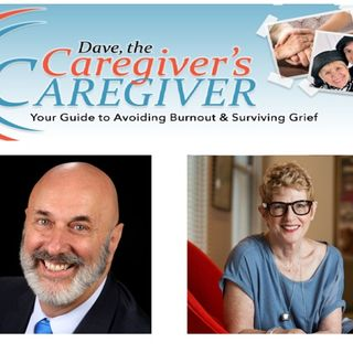 Adrienne Gruberg and Caregiver Dave, Shop  Talk