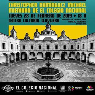 """Periodismo Cultural - 01 - Entrevista a Christopher Domínguez Michael """"Breve Historia de la Crítica en México"""""""
