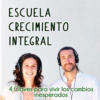 Claves para vivir los cambios inesperados #4- Podcast Escuela Crecimiento Integral