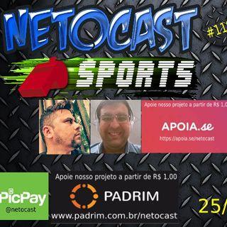 NETOCAST 1195 DE 25/09/2019 - ESPORTES - FUTEBOL - NBA - WNBA - NFL - RUGBY