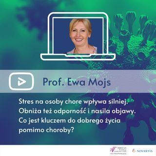Prof. Ewa Mojs - Łuszczyca, ŁZS i COVID-19 - Sytuacja zagrożenia