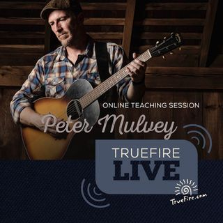 Peter Mulvey - String Traveler Guitar Lessons, Performance, & Interview