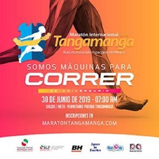 CONVOCATORIA #MARATON TANGAMANGA 2019