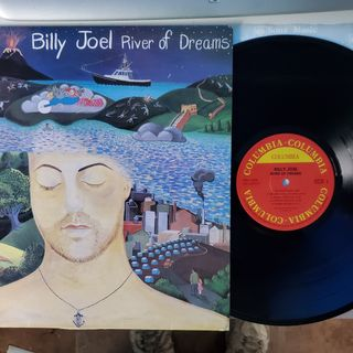 Side 1 & 2 River Of Dreams (1993) on Vinyl Korean Pressing