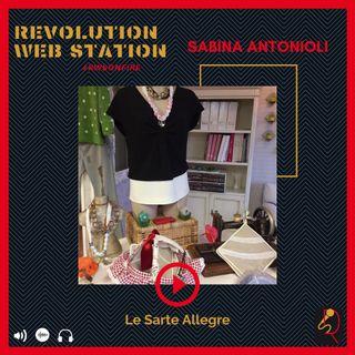 INTERVISTA SABINA ANTONIOLI - TITOLARE SARTORIA LE SARTE ALLEGRE