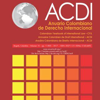 Anuario colombiano de Derecho