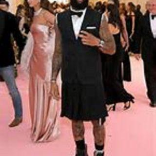 TalkNThur_ Odell WTF! Odell Met Gala Skirt or Kilt & Daniel Jones Tight End