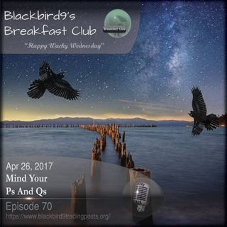 Mind Your Ps And Qs - Blackbird9 Podcast