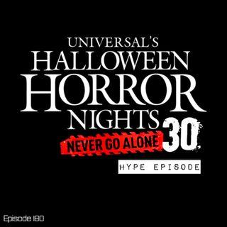 Halloween Horror Nights 2021 HYPE EPISODE