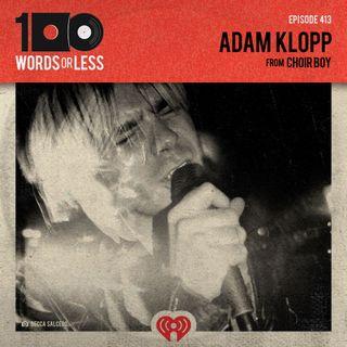 Adam Klopp from Choir Boy