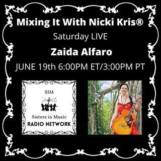 Mixing It Saturday LIVE - Special Guest: Zaida