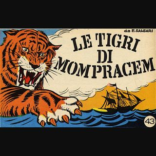 Le Tigri di Mompracem di Emilio Salgari - 1\7