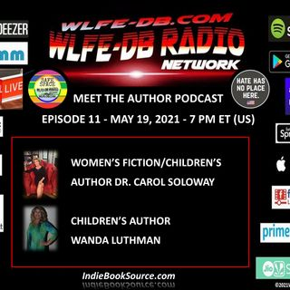 MEET THE AUTHOR Podcast - Episode 11 - Carol Soloway & Wanda Luthman