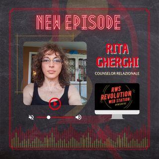 INTERVISTA RITA GHERGHI - COUNSELOR RELAZIONALE