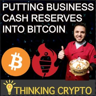 Investing Cash Reserves In Bitcoin | Tahinis Restaurant Ali Hamam Co-Founder & CMO Interview