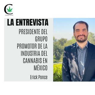 """""""El mercado local mexicano de #cannabismedicicinal es interesante, somos 127 millones de hab"""".- Epi 51"""