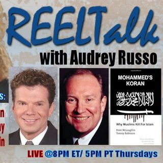 REELTalk: Author Andrew McCarthy, Dr. Michael Guillen and author Peter McLoughlin direct from the UK