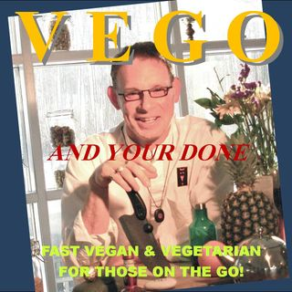 VEGO Episode 7 - Cocoa Butter, Chocolate Turtles & Facon - egg plant bacon