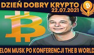 #DDK | 22.07.2021 | ELON MUSK - PO KONFERENCJI? FTX - NOWYM BINANCE? BTC - DANE ON CHAIN VS OPCJE I DERYWATYWY?