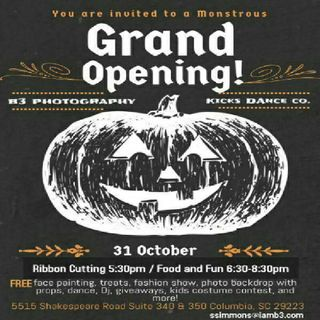 Halloween Special: B3 Photagraphy and Kicks Dance Co. Grand Opening