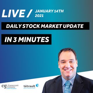 Daily Stock Market Update in 3 Minutes - Biden Stimulus Package