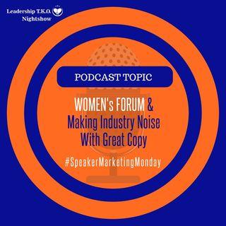 Women's Forum & Marketing Monday | Lakeisha McKnight