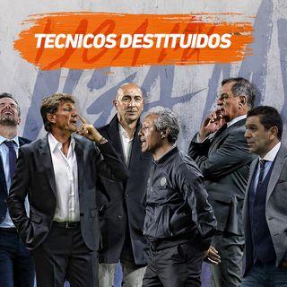Técnicos cesados en el Clausura 2019