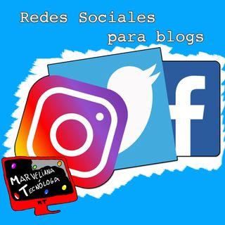 Tecno Marzo 2019 - Redes sociales para blogs. Mitos y verdades. Y #BlogMesMT