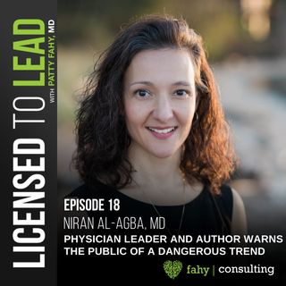 018 - Physician Leader and Author Warns the Public of a Dangerous Trend