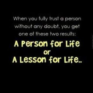 Blind Trust!!
