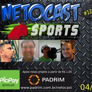 NETOCAST 1263 DE 04/03/2020 - ESPORTES - FUTEBOL - NFL - XFL - NBA - TÊNIS - UFC
