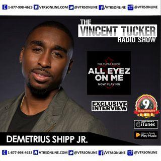 Demetrius Shipp Jr Talks Playing 2Pac in New Biopic 'All Eyez On Me'