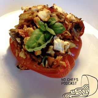 Stuffed pepper (25 mins + 30 mins)
